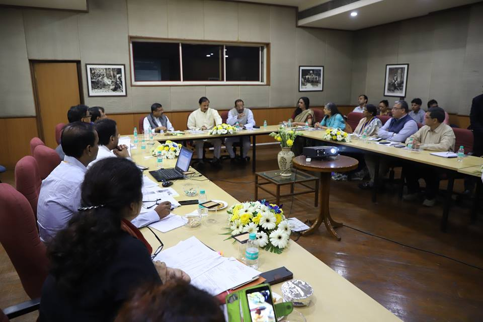 Union Minister of P&NG and SD&E discussed the roadmap for bicentenary celebrations of historic Paika Rebellion with Union Culture Minister at New Delhi on 13th Nov'17