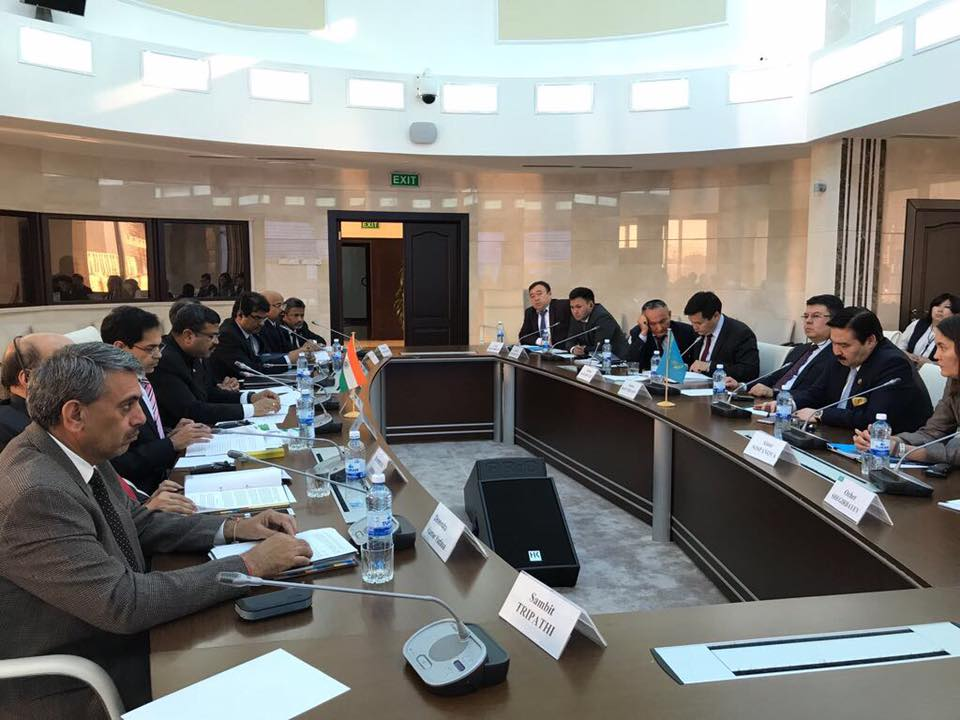 Union Minister of P&NG and SD&E Co-chaired the 13th meeting of the India-Kazakhstan Inter-Governmental Commission (IGC) with H.E. Kazakh Energy Minister at Astana Kazakhstan at Astana on 20th Sept'17