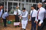 Hon'ble MoS(I/C) PNG Planted a sapling in the premises of LPG Equipment Research Centre (LERC), Bengaluru on 17th Sep'16