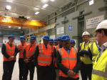Hon'ble MoS(I/C) PNG Visited GE subsea oil drilling manufacturing centre in Aberdeen on 14th Sep'16