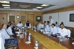 Hon'ble MoS(I/C) PNG along with MoS Road Transport,Highways & shipping reviewed the functioning of Chennai Petroleum Corporation at Chennai on 23rd July'16
