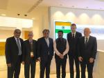 Hon'ble MoS(I/C) PNG Shri Dharmendra Pradhan at British Petroleum Headquarters at London with the senior managements of BP on 13th Sep'16