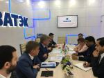 Hon'ble MoS(I/C) PNG in a meeting with the CEO of Novatek, the 2nd largest Gas producing Company of Russia at St. Petersburg on 16th June'16.