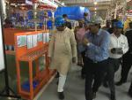 Hon'ble MoS(I/C) PNG at the ISUZU factory at Sri City SEZ, Andhra Pradesh on 04th Sep'16