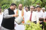 Hon'ble MoS(I/C) PNG Launched Walk for Water which envisions to restore 1 Lakh Dried up Borewells in next 1000 Days on ‎WorldEnvironmentDay‬ at Gundla Pochampally village in Rangareddy district.