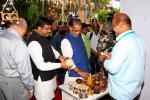 Hon'ble Minister of Agriculture and Hon'ble MoS(I/C) PNG Visiting an exhibition at Bhubaneswar on 02nd Sep'16 on Coconut products depicting the Indian coconut industry