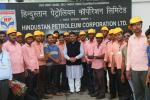 Hon'ble MoS(I/C) PNG during his visit to OMC depots at Balesore interacting with TT crew members on 01st Jun'16.