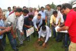 Hon'ble MoS(I/C) PNG Planted a sapling at Balsore Indane bottling Plant campus during his visit to the unit on 01st Jun'16.