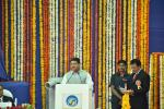 Hon'ble MoS(I/C) PNG addressing on the ceremony to dedicate the new crude distillation unit(CDU) installed in BPCL's Mahul refinery to the nation on 28th Dec'15.