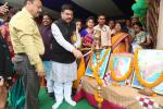 Hon'ble MoS(I/C) PNG inagurating the Annual Function of Brajarajnagar College in Jharsuguda District, Odisha on 09th Jan'16.