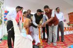 Hon'ble MoS(I/C) PNG inagurating the Silver Jubilee Celebrations of Malheipada Panchayat Uchcha Vidyalaya, Rajamunda in Reamal Block of Deogarh, Odisha on 09th Jan'16.