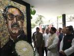 Hon'ble MoS(I/C) PNG at Bangabandhu Memorial Museum at Dhaka on 18th April'16.