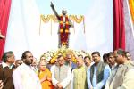 Hon'ble MoS(I/C) PNG with Hon'ble Steel and Mines Minister during the unveiling of Statue of Bharat Ratna Dr B R Ambedkar at NALCO, Angul in Odisha on 08th Jan'16