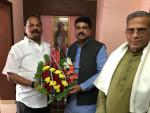 Hon'ble MoS(I/C) PNG meeting with the Hon'ble CM of Jharkhand at Puri, Odisha on 08th Jan'16