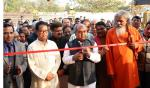 Hon'ble MoS(I/C) PNG during the inauguration of Indian Bureau of Mines (IBM) office at Bhubaneswar with Hon'ble Steel and Mines Minister & Hon'ble Minister of Tribal Affairs on 07th Jan'16.