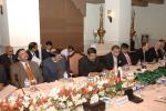 Hon'ble MoS(IC) PNG along with Senior Ministry Officials at TAPI gas pipeline project Ministerial meeting at Islamabad, Pakistan on 11th Feb'15.