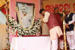 Hon'ble MoS(I/C) PNG Paying floral tributes to Dr Harekrushna Mahatab, eminent freedom fighter, former Odisha CM at Bhubaneswar on 02nd Jan'16.