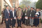 Hon'ble MoS(I/C) PNG inaugurating pavilion on Shale Gas & Oil at New Delhi on 28th Jan'16 compiled by students from prominent institutions
