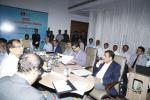 Hon'ble MoS(I/C) PNG Reviewing KG Offshore Deep Water projects of ONGC in Vizag on 24th June'15.