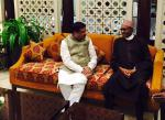 Hon'ble MoS(I/C) PNG receiving President of Nigeria H.E. Mr Buhari at New Delhi on 27th Oct'15 who is visiting India to attend 3rd India-Africa Summit.