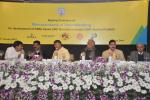 Hon'ble MoS(IC) PNG, along with Hon'ble CM of AP, Hon'ble Min. of Civil Aviation, Hon'ble Min. of State for Science & Tech. at the signing of MOU for FSRULNG Terminal in A.P. at New Delhi on 15th Jan'15.