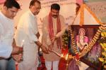 Hon'ble MoS(I/C) PNG and Hon'ble Agriculture Minister during the inauguration of new campus of Vikash Group of Schools at Bargarh on 20th Feb'16.