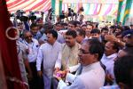 Hon'ble MoS(I/C) PNG along with Hon'ble CM of MP & Union Minister of Steel & Mines during the inauguration of CNG Mother Station & Domestic Piped Gas Supply at Ujjain on 30th March'15.