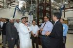 Facility Tour of Honeywell India Technology Centre by the Hon'ble MoS(I/C) PNG before the inaguration of the Recycle Hydrocracker Pilot plant at Gurgaon on 24th May'16.