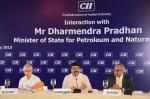 Hon'ble MoS(I/C) PNG interacting in CII hydrocarbon council at New Delhi on 07th May'15.