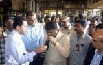 Hon'ble MoS(I/C) PNG inspecting Plastic to Fuel Plant of Pimpri Chinchwad Municipal Corporation's (PCMC) at Moshi garbage depot near Pune on 10th Oct'15
