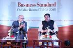 Hon'ble MoS(I/C) PNG at the Business Standard Round Table organised at Bhubaneswar on 20th Dec'15.