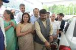 Hon'ble MoS(I/C) PNG during the launch of Bio-diesel blended HSD(Diesel) sale at New Delhi on 10th Aug, 2015, World Bio Fuel Day.