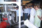 Hon'ble MoS(I/C) PNG interacting with staff and officers of Plastic Application Development Centre(PADC) at Panipat on 07th June'15.