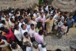 Hon'ble MoS(I/C) PNG visiting the earthquake affected areas in Motihari, Bihar on 28th Apr'15.