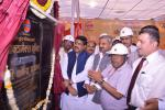Hon'ble MoS(I/C) PNG laying the foundation stone of Octomax Plant at Mathura Refinery on 06th Mar'16.