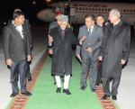 Hon'ble MoS(I/C) PNG on a two-day visit to Turkmenistan with Hon'ble Vice President Shri Hamid Ansari on 12th Dec'15.