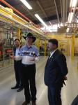 Hon'ble MoS(I/C) PNG during his visit of South Alberta Institute of Technology(premier diploma inst. in Calgary) on 5th July 2015.