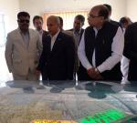 Hon'ble MoS(I/C) PNG visiting the Chahbahar Port site on 10th Apr'16 which will be built under Govt of India assistance