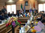 Hon'ble MoS(I/C) PNG at Chahbahar Free Trade Zone, Iran with Governor of the Province, officials of FTZ on 10th Apr'16.