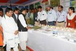 Hon'ble MoS(I/C) PNG and Hon'ble Agriculture Minister visiting the exhibition organised in the premises of Central Rice Research Institute (CRRI), Cuttack on 09th May'16.
