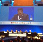Hon'ble MoS(I/C) PNG addressing 6th International Seminar of OPEC on oil market stability at Vienna on 03rd June'15.