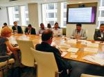 "Hon'ble MoS(I/C) PNG on 02nd July'15 addressing seminar at CGDEV Washington DC on ""Promoting financial inclusion and reforming subsidies- JAM and PAHAL""."
