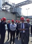 Hon'ble MoS(I/C) PNG visiting a bio-diesel plant in Vienna on 02nd June'15