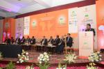 Hon'ble MoS(I/C) PNG addressing the august gathering during the 4th Indo-African Hydrocarbon Conference at New Delhi on 21st Jan'16.