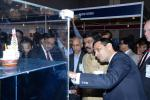 Hon'ble MoS(I/C) PNG at the Indian & global petroleum engineering companies' Exhibition at the Society of Petroleum Engineers(SPE), Mumbai on 24th Nov'15.