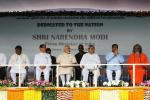 Hon'ble MoS(I/C) PNG along with Hon'ble Governor & CM of Odisha attending the Dedication of NISER, Bhubaneswar to the Nation by Hon'ble Prime Minister on 7th Feb'16