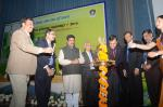 Hon'ble MoS(I/C) PNG inaugurating the Launch of nationwide Oil & Gas Conservation Fortnight in Delhi on 16th Jan'16.