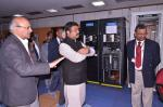 Hon'ble MoS(I/C) PNG at GEOPIC, Dehradun on 18th Feb'16. Features of Aryabhata-2, the supercomputer system for ONGC operations being explained.