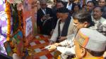 Hon'ble MoS(I/C) PNG Launched PMUjjwalaYojna at Kapkot, Uttarakhand along with MoS Textiles on 22nd Dec'16