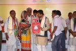 Hon'ble MoS(I/C) PNG Launched PMUjjwalaYojna at Garhpalasuni, Kankadahada Block in Dhenkanal District of Odisha on 26th Nov'16